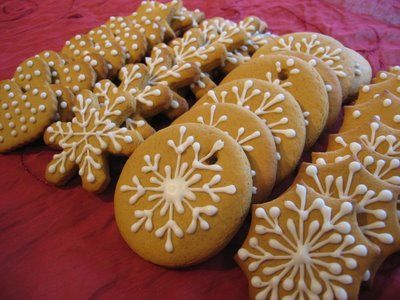 Confiture Maison: Gingerbread Christmas Cookies