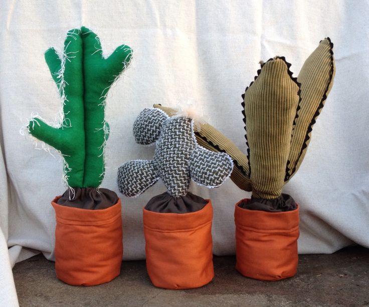 Fabric cacti