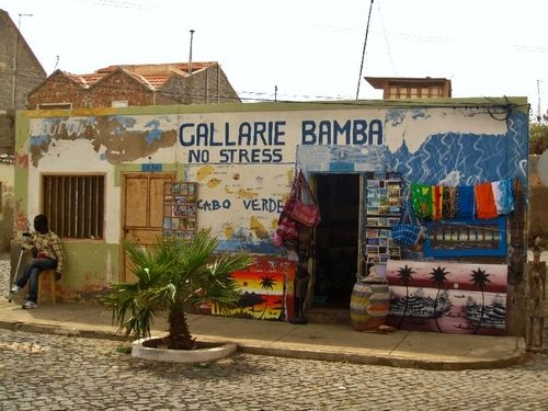 Sal, Cape Verde African market shop #Travel #CapeVerde #Team238