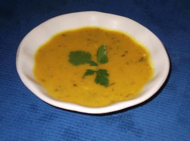 Lentil Soup Known in the Middle East as Chorbat el Ads, this is a 'cooks-itself', hearty, delicious soup.