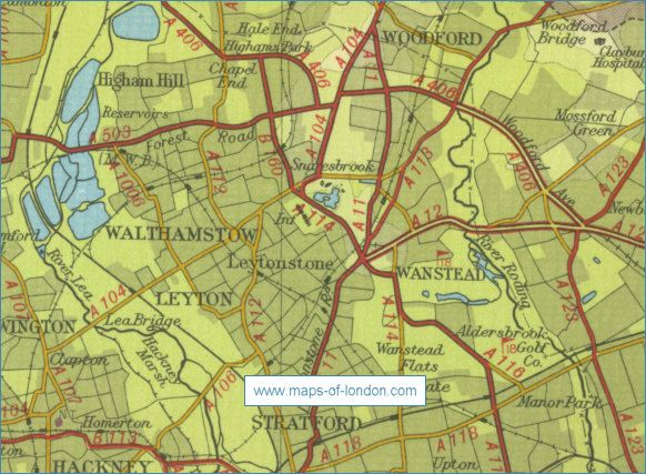 Waltham Forest Map