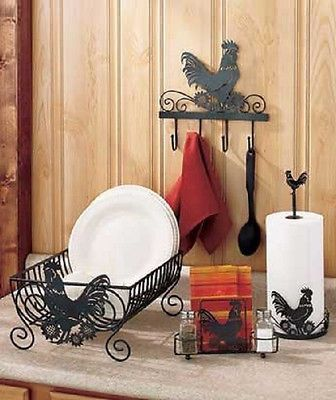 1000 Images About Rooster Kitchen Decor On Pinterest