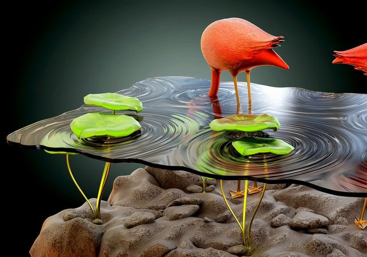 Beautiful-Table-Concept-Like-Flamingos-in-A-Pond-7