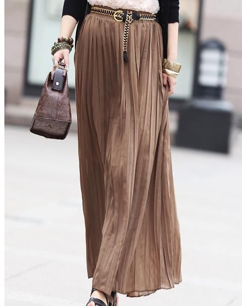 Long Skirt would be perfect with #Hijab