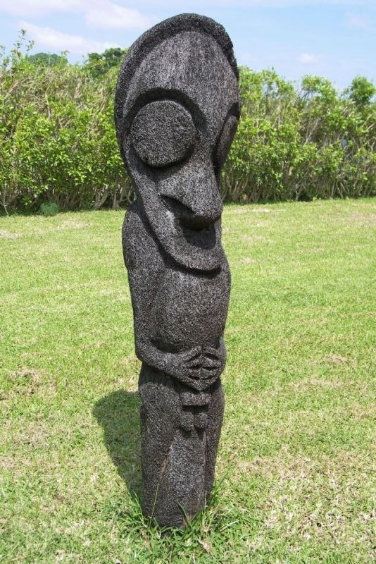 Ambrym Black Fern figure - Port Vila, Shefa- Vanuatu