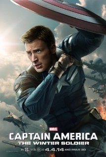WOW was I surprised when there were honest to goodness gasps from behind me when who the Winter Soldier is was revealed!  I thought everyone knew that one.  Chris Evans was born to play Captain America, I honestly can't picture anyone else in the role.  He has beautiful eyelashes by the way.  Loved the Falcon, he makes you want to fly.  A great addition!  Totally entertained!
