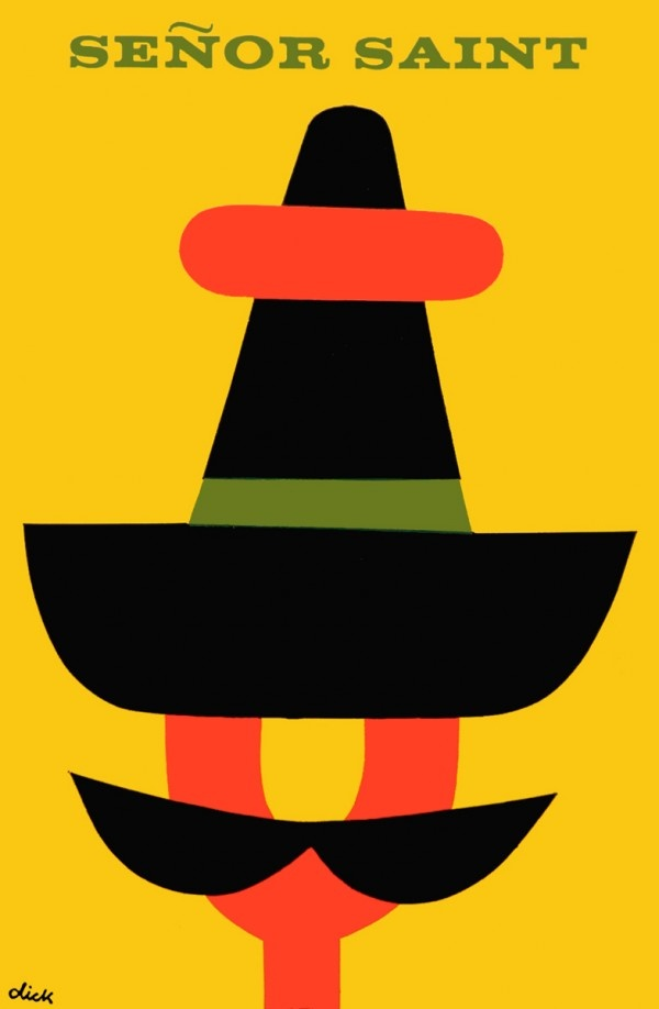 Senor Saint by Dick Bruna #illustrazione #storia #sport