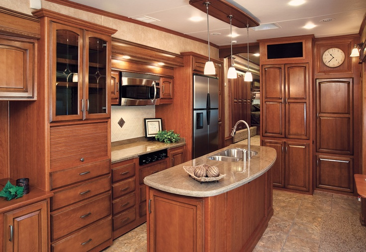 5Th Wheel Campers >> another gorgeous RV kitchen | Products I Love | Home kitchens, Interior, Small space living