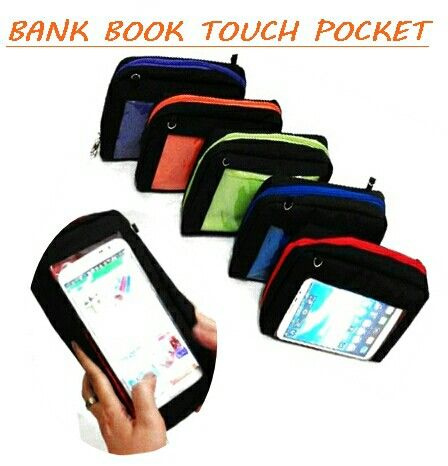 Fashion pocket touch wallet