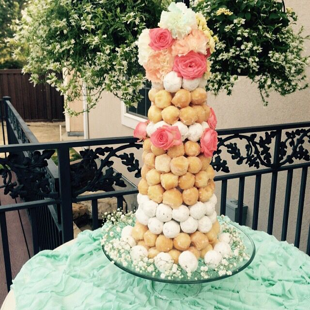 15 best donut hole cake images on Pinterest Cake wedding Weddings
