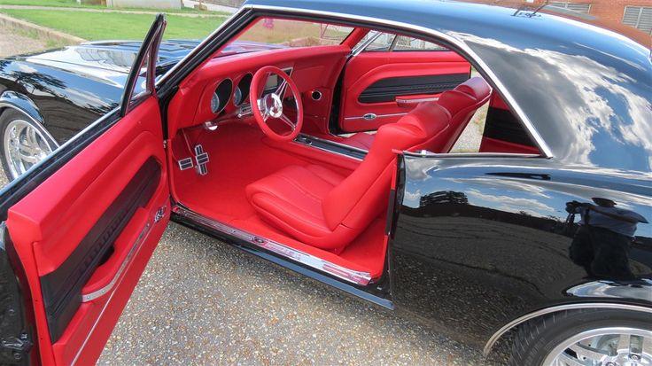 Black 67 Camaro Red Interior Interior By Shannon Custom