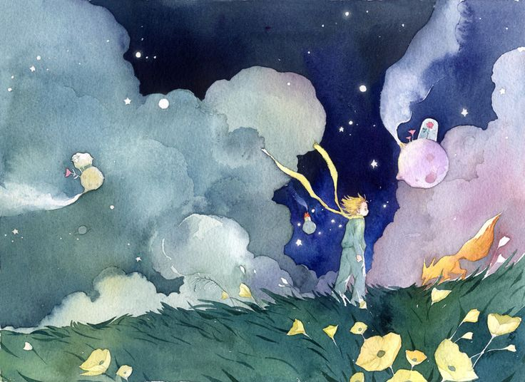 the little prince by Wang He