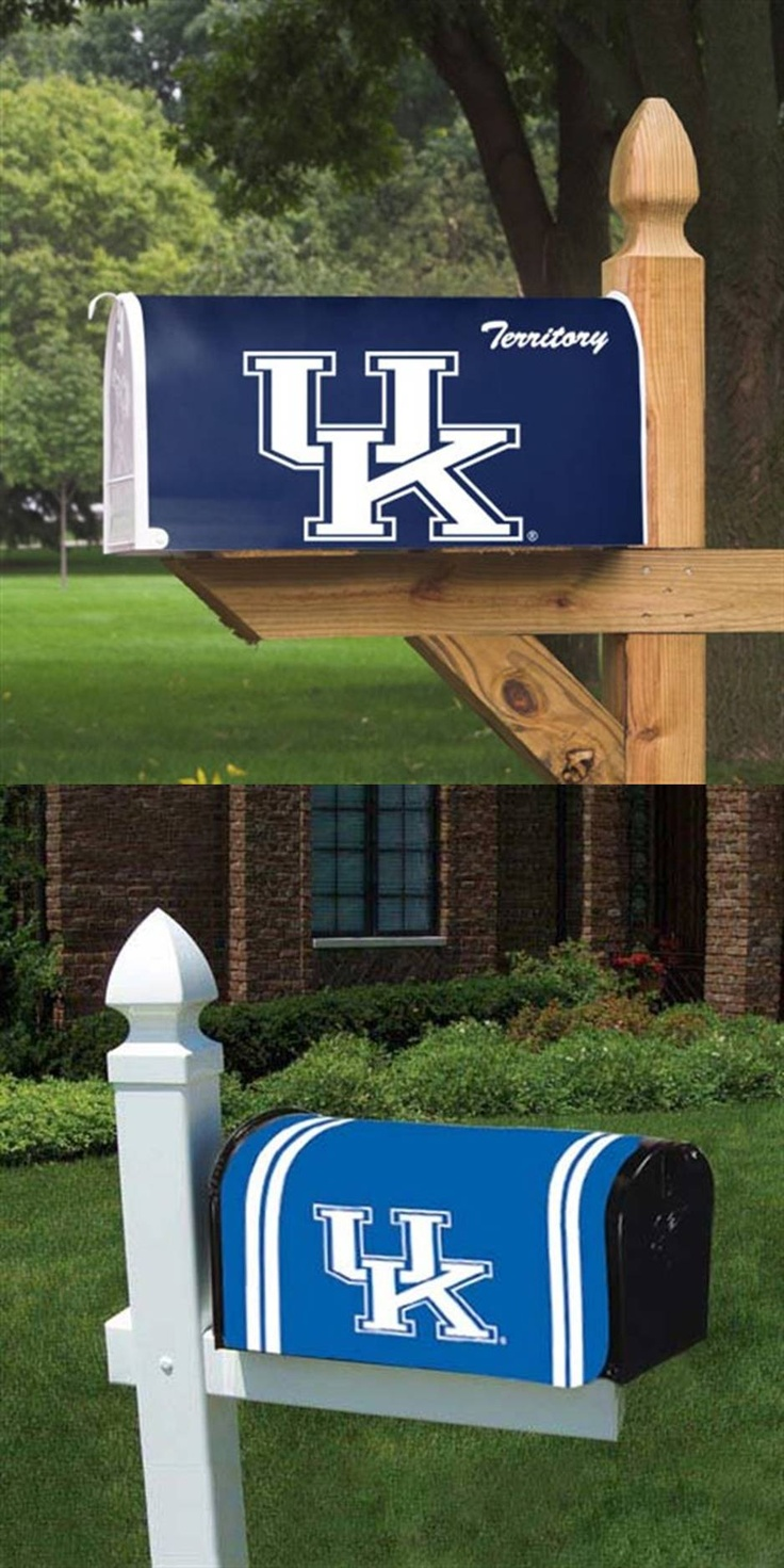 University of Kentucky Wildcats - 2 pictures of magnetic mailbox cover