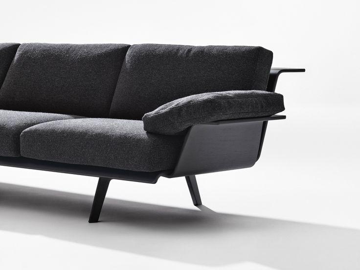 Modular sofa ZINTA LOUNGE by Arper design Lievore Altherr Molina