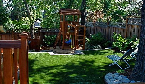 Backyard Playgrounds that Work with Your Landscape  San Carlos, CA backyard