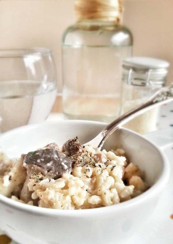 Risotto de setas un risotto italiano cl sico risotto - Rissotto de setas ...