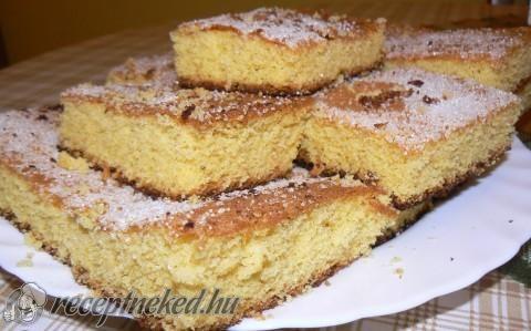 Kukoricamálé süti recept fotóval