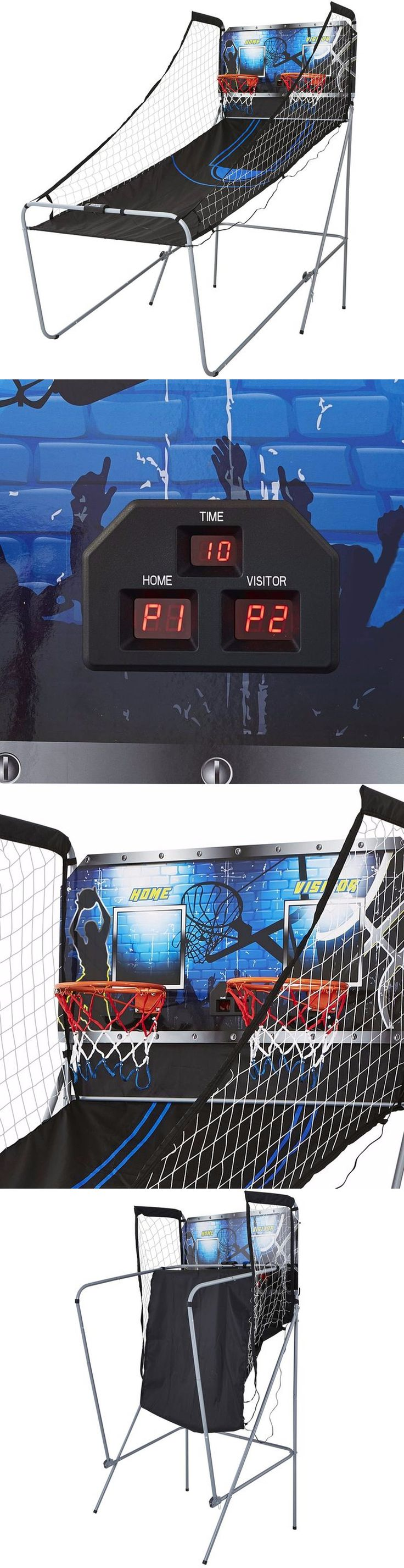 Other Indoor Games 36278: Arcade Basketball Game Electronic With 8 Fun Hoop Game Options 12 Rim 2-Player -> BUY IT NOW ONLY: $78.95 on eBay!