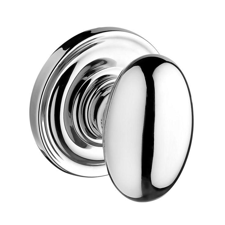 Ellipse Reserve Knob (ELL.TRR.150) Baldwin door knobs This style for bathroom doors...