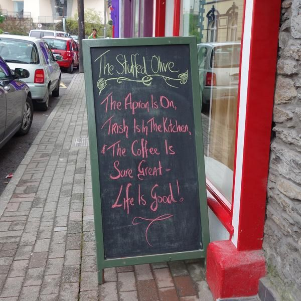 The Stuffed Olive, Bantry | John and Sally McKennas' Guides