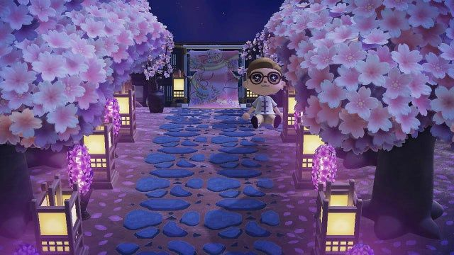 Already Missing Cherry Blossoms Ac Newhorizons In 2021 Cherry Blossom Blossom Animal Crossing