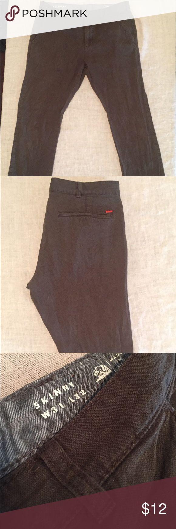 Bullhead Denim Brown Skinny Jeans 31/32 Bullhead Denim Co Brown Skinny Jeans. Great condition! Size: 31/32. Ships immediately! Bullhead Jeans Skinny