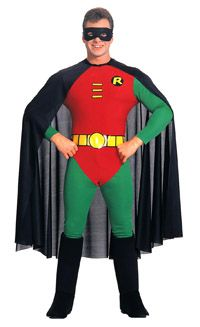 Adult Robin Costume - Batman Costumes