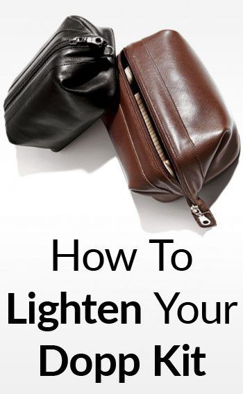 Dramatically Lighten Your Travel Bag. Reduce-Weight-Of-Your-Toiletry-Bag -tall fd35c7e776