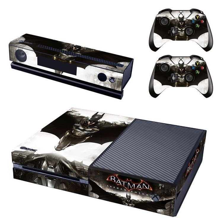 Batman arkham knight xbox one skin for console and controllers