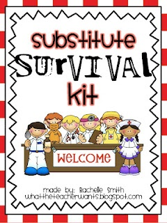 What the Teacher Wants!: Substitute teacher binder organizer. Editable pages