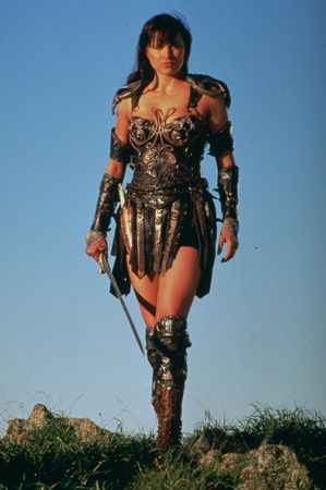 The most beautiful woman in the world :) One day I will be Xena the warrior princess! One whey protein shake at a time.
