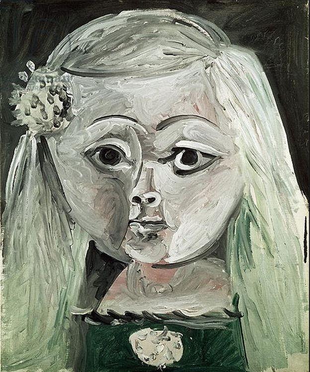 """Pablo Picasso - """"Meninas (Infanta Margarita María)"""". 1957"""