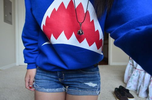 ♡Shark Hoodie♡ By: ♡Volleyball Beauty♡ (VolleyballBeaut)