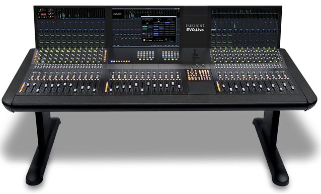 Gearjunkies.com: Fairlight introduces EVO.Live Mixing System