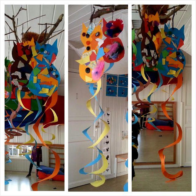 Myrertoppen barnehage: Kreative katter til karneval