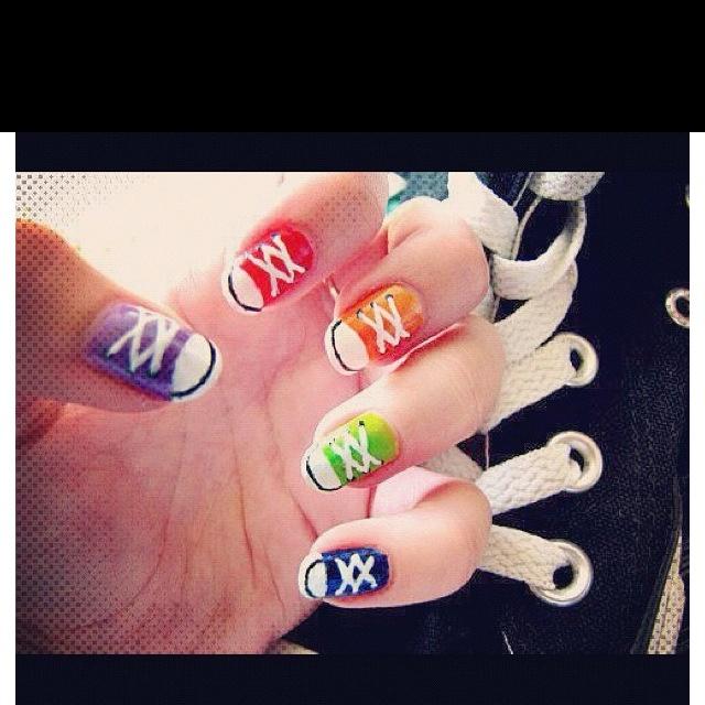 Sneaker Nails