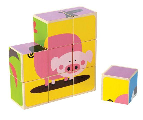Hape Wooden Block Puzzle