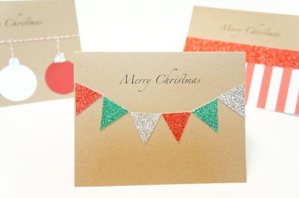 The latest from @Keri Whaitiri Bond at DIY Bride // Sparkly DIY Christmas Card Tutorial