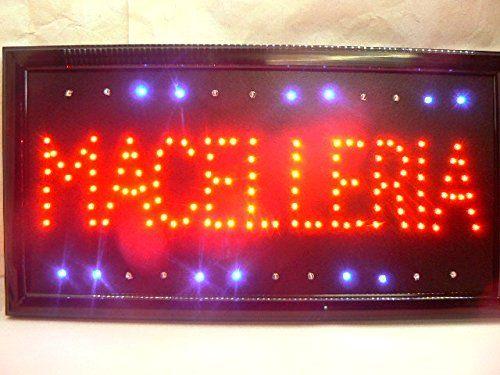 Enseigne lumineuse LED avec inscription Boucherie: ENSEIGNE LUMINEUSE À LED GRANDE Taille : 48,5 x 25,5 x 2,5 cm Cet article Enseigne…