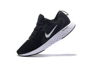 4502a3747f0 Nike Odyssey React Black Wolf Grey Dark Grey White AO9819 001 Mens Running  Shoes