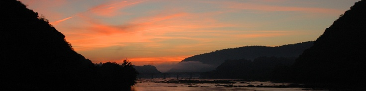 Sunrise at Harpers Ferry