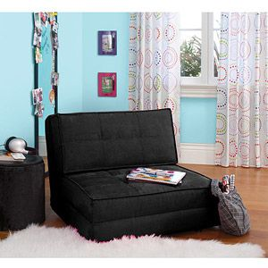 Your Zone flip chair is flexible enough to suit the activities of your children with its three convertible positions. It can unfold into a bed with one part remaining folded to serve as a pillow for guests. It can completely fold up into a comfortable chair, and can serve as a reclining lounge chair.