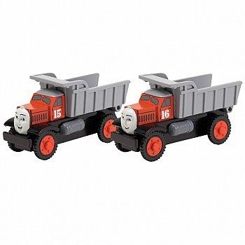Max & Monty Wooden Dump Trucks