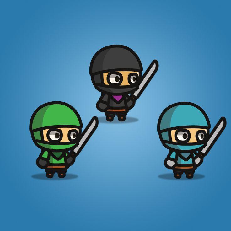 Ninja Tiny Style Character