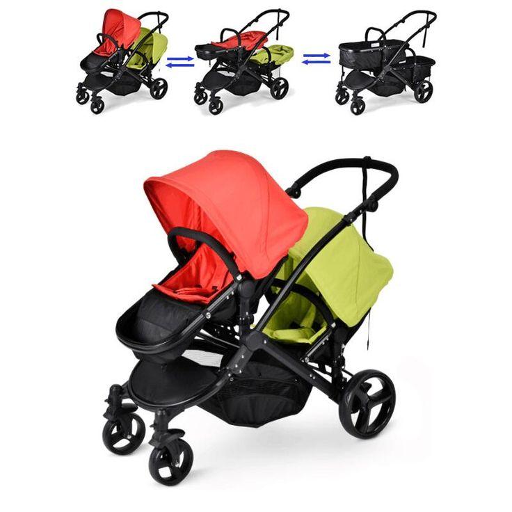 Tanie: Twin Baby Wózek Spacerowy Podwójne Siedzenia Dla 0 36 miesięcy, kup wysokiej jakości Mutiple  Stroller bezpośrednio od dostawców z Chin: Twin Baby Wózek Spacerowy Podwójne Siedzenia Dla 0-36 miesięcy