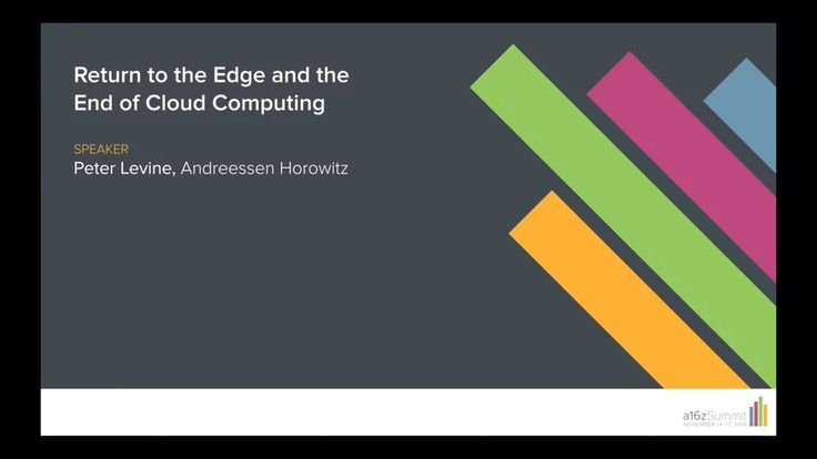 The End of Cloud Computing on Vimeo