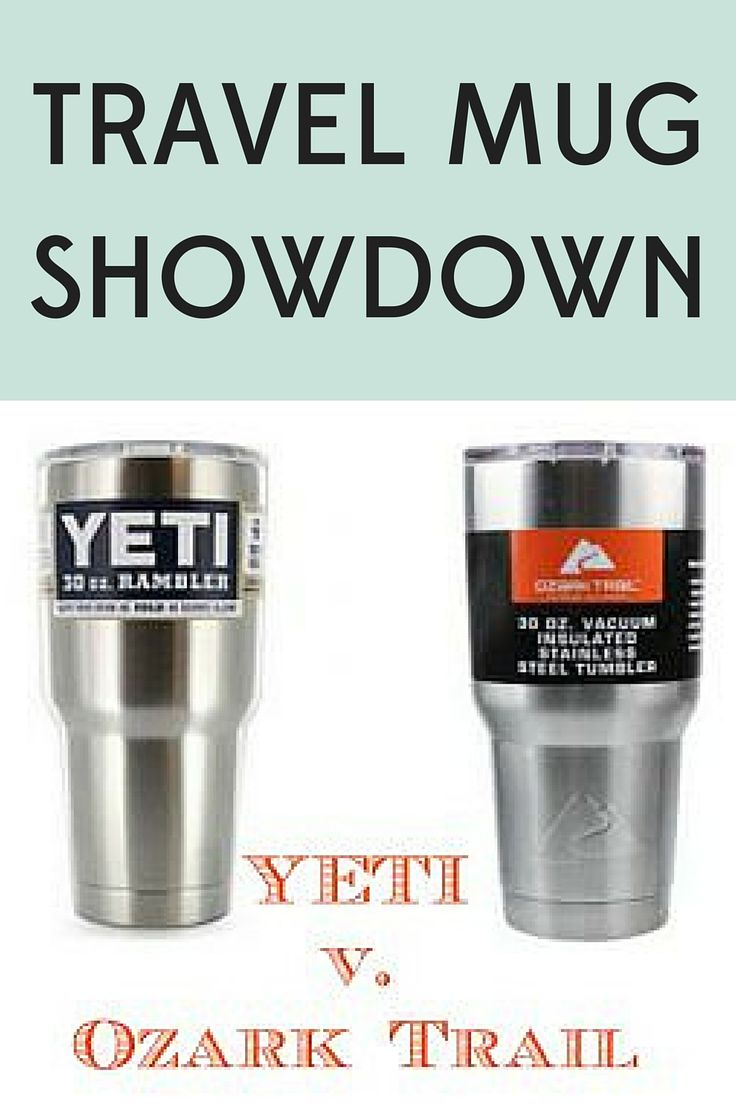 Does the much cheaper Ozark Trail tumbler keep drinks as cold as the YETI? Find out the results of our travel mug showdown!
