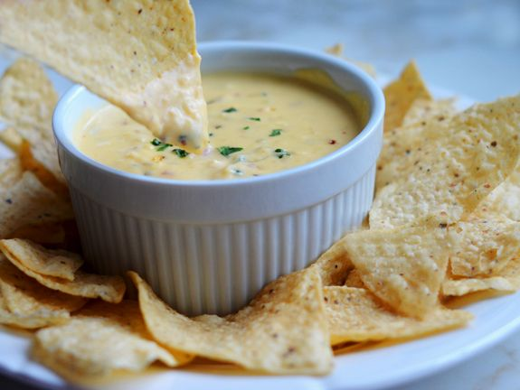 Chili Con Queso - A homemade queso that's rich, creamy, a little spicy and dangerously addictive!