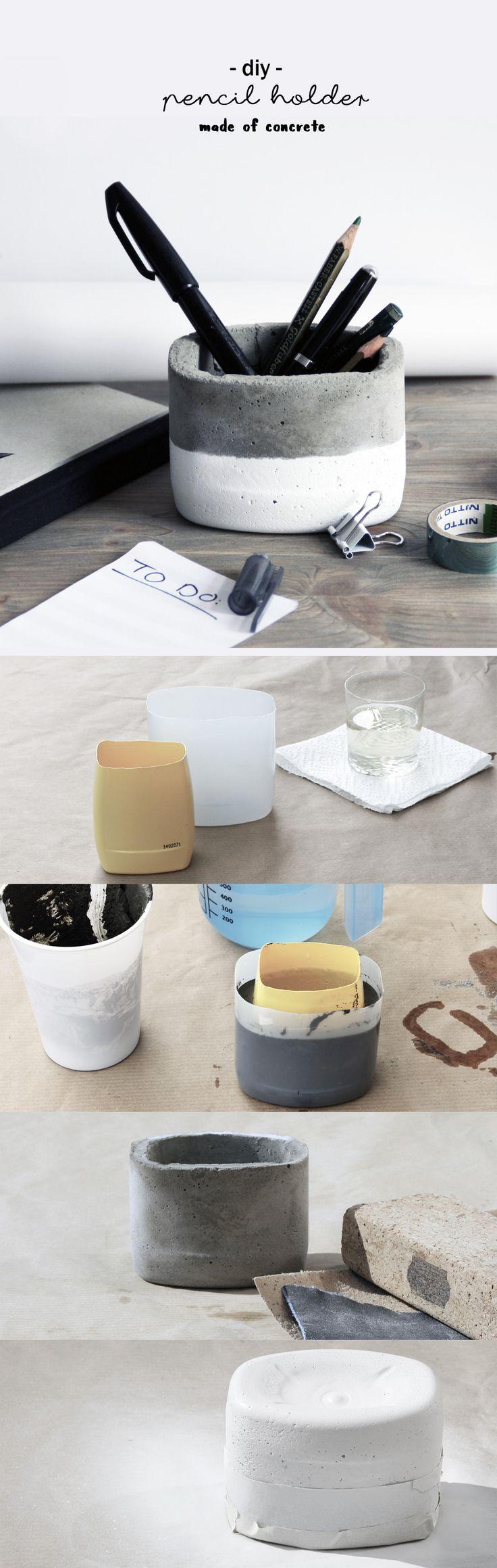 die besten 20 stifthalter ideen auf pinterest. Black Bedroom Furniture Sets. Home Design Ideas