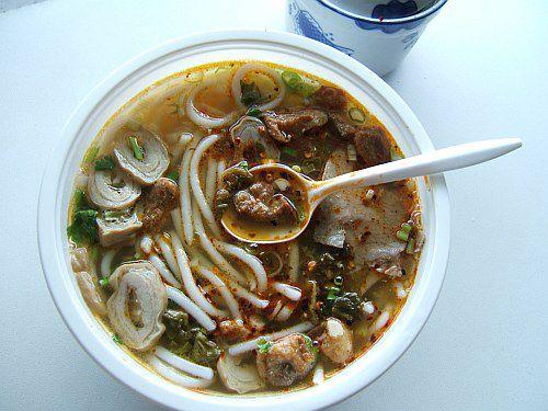 Noodles with Crispy Meat Sauce at Yun Nan Flavour Garden ($5.50) Yun Nan Flavour Garden: 5121 8th Avenue, Brooklyn, NY 11220 (map); 718-633-3090